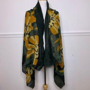 Zilch Amsterham Women's Wool Scarf Wrap Large